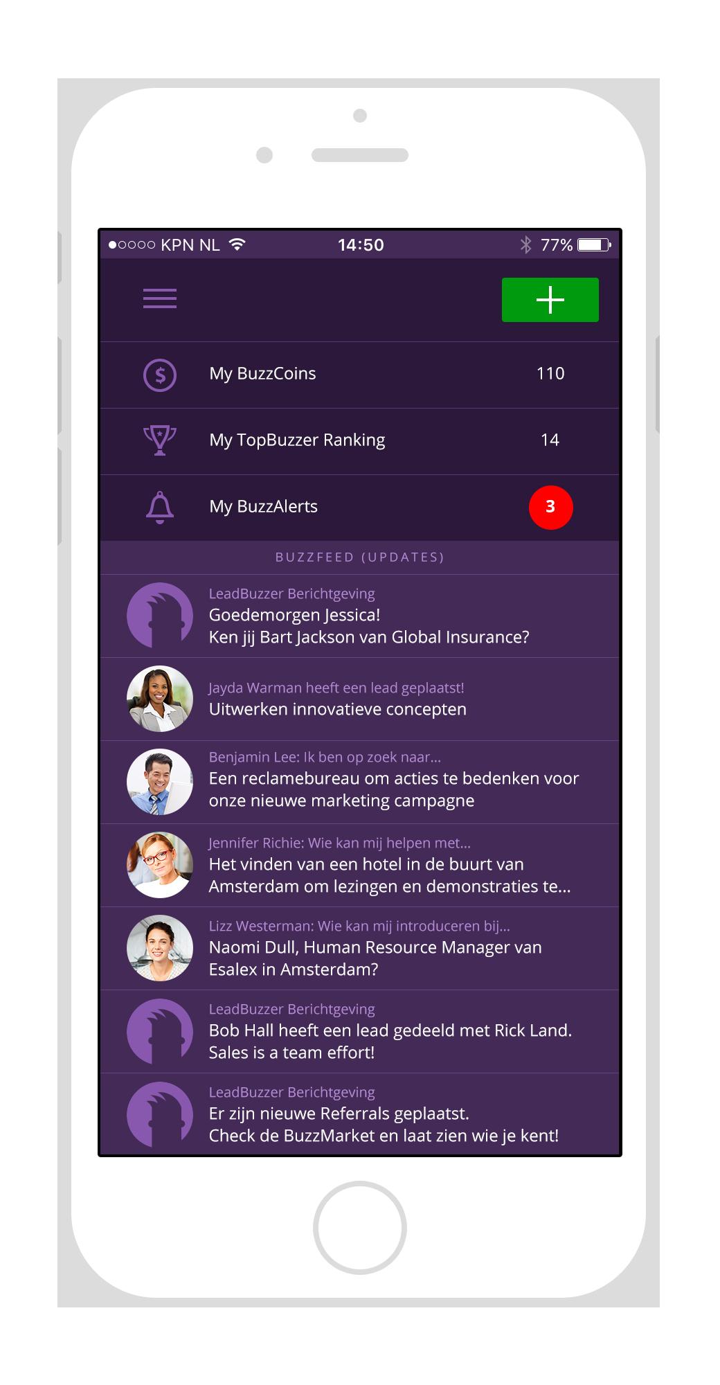 LeadBuzzer App